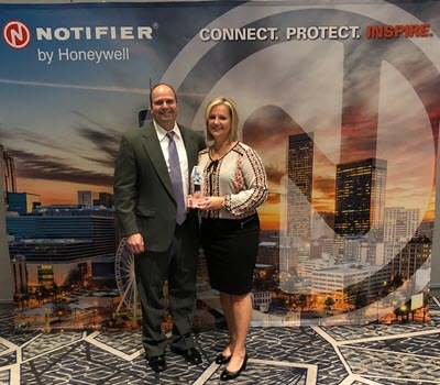 Midwest Alarm Services Receives NOTIFIER Award